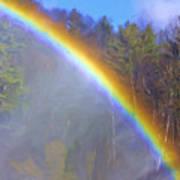 Rainbow In The Mist Art Print