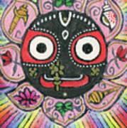 Rainbow Jagannath Art Print