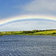 Rainbow Near Ballyvaughan Art Print