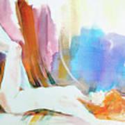 Rainbow Nude Art Print