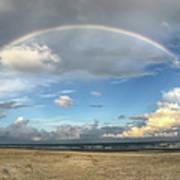 Rainbow Over Ocean Art Print