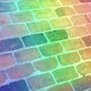 Rainbow Reflection  Art Print