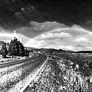 Rainbow Road - Id 16217-152021-8918 Art Print