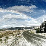 Rainbow Road - Id 16217-152040-7206 Art Print