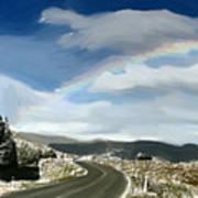 Rainbow Road - Id 16217-152042-9570 Art Print
