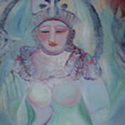 Rainbow Shiva Art Print