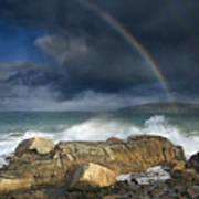 Rainbow To Heaven Shamrock Shores  Art Print