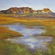 Rainbow Valley Northern Territory Australia Art Print