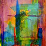 Rainbow Wreck Art Print