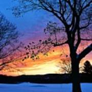 Rainbowed Sunrise Art Print
