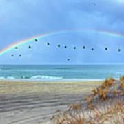 Rainbows And Wings I Art Print by Dan Carmichael