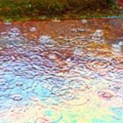 Raindrops 6877 Art Print