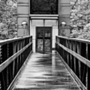 Rainy Day At Crystal Bridges Art Print