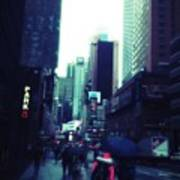 Rainy Day New York City Art Print