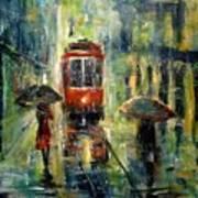 Rainy Fantasy Art Print