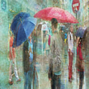 Rainy In Paris 6 Art Print