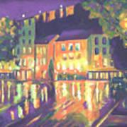 Rainy Night-old Quebec Art Print
