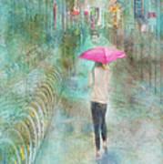 Rainy In Paris 3 Art Print