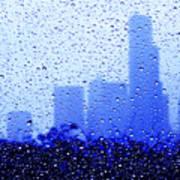 Rainy Seattle C010 Art Print