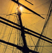 Raise The Sails Art Print