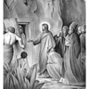 Raising Lazarus Art Print