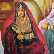 Rajasthani People Art Print
