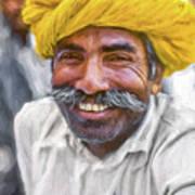 Rajput High School Teacher - Paint Art Print