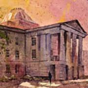 Raleigh Capital Art Print