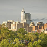 Raleigh Nc Panoramic Art Print