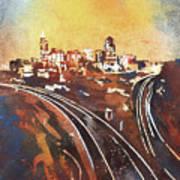Raleigh Sunrise II Art Print