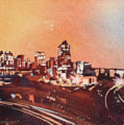 Raleigh Sunrise Iv Art Print