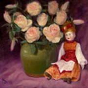 Ramblin Rose Art Print