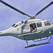 Ran N49 Bell 429 Global Ranger N49-048 Art Print