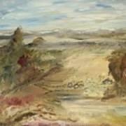Ranch At The Pass Art Print