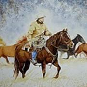 Ranch Rider Art Print