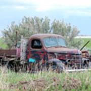 Ranch Truck Art Print