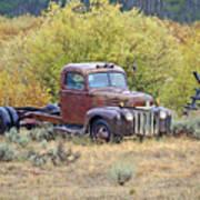 Ranch Truck II Art Print