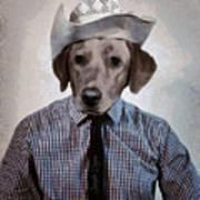 Rancher Dog Art Print