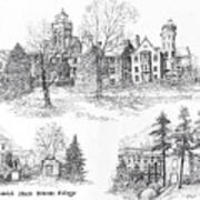 Randolph Macon College Art Print
