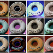 Randy's Donuts - Dozen Assorted Art Print