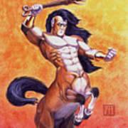 Ranting Centaur Art Print