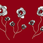 Ranunculus Art Print by Frank Tschakert