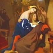 Raphael And Fornarina 1840 Art Print