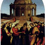 Raphael Marriage Of The Virgin Art Print