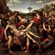 Raphael The Entombment Art Print