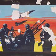 The Colour Of War Art Print