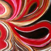 Raspberry Pralines N Art Print