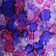 Raspberry Rain Ink #19 Art Print
