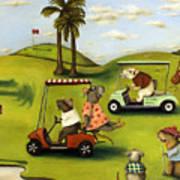 Rat Race 2  At The Golf Course Art Print