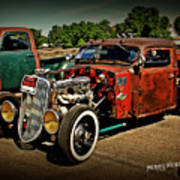 Rat Rod For Sale Art Print
